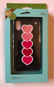 Kate Spade iPhone XR Case with Heart Stand