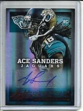 Ace Sanders 2013 Absolute Spectrum Autograph #01/30