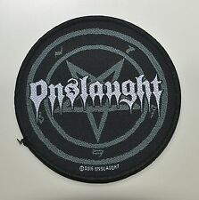 ONSLAUGHT - Pentagram - Patch - 9,9 cm - 164089