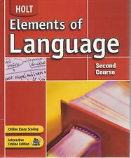 Elements of Language, Grade 8, 2nd Course, Student Edition
