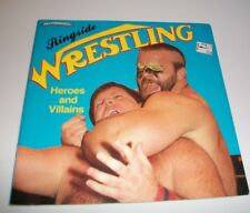 Ringside Heros and Villains WWF Wrestling Greats Book 1985 T.S. Walsh