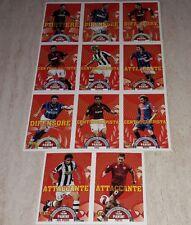 SERIE T AGGIORNAMENTI FIGURINE CALCIATORI PANINI 2007/08 11 FIGURINE ALBUM SET