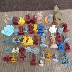 Lot 46pcs D&D Dungeons & Dragons War Game Role-Playing Miniatures Figures