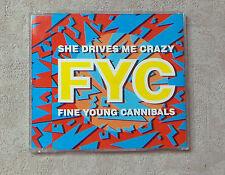 "CD AUDIO MUSIQUE INT / FYC ""SHE DRIVES ME CRAZY"" CD MAXI-SINGLE  1988  3T"