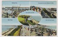 Essex postcard - Clacton on Sea (Multiviews) - RP - P/U 1946 (A73)