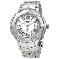 Charriol Celtica White Dial Stainless Steel Mens Watch CE438S650007