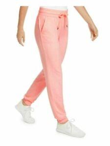 Ideology Women's Joggers Mushy Knit Pink Lounge Pants Pockets Drawstring Active