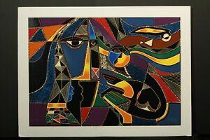 """Global village"" Original Mixed-media Seriagraph Modern Art Neal Doty"