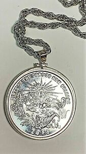 BABYLON 2018 WITH CHAIN .999 Fine Silver New Orleans Mardi Gras Doubloon B112
