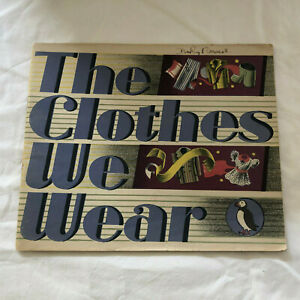 Puffin Picture Book 64 – The Clothes We Wear P/B 1947