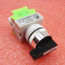 3 Position Selector Rotary Switch Power Ignition LAY7-20X/3 S08 660V/10A