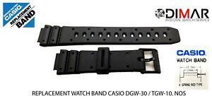 Replacement Original Watch Band Casio. DGW-30/TGW-10/GMW-15 NOS