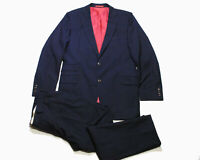 authentic SUITSUPPLY navy blue suit Size 52 Blazer and Pants