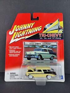 2001 Johnny Lightning Tri-Chevy 1956 Chevy Nomad White Lightning Car RARE - NEW