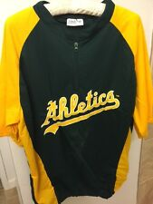 Oakland A's Replica Batting Practice Pullover (sizes S, M and XL)