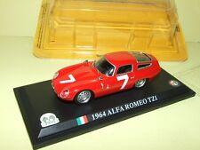 ALFA ROMEO TZ1 Rouge 1964 DEL PRADO