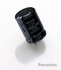Elna condensateur électrolytique 16 V 10000uf Snap in 31 mm x 22 mm 2 pièces OL0158