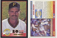Lot of 12 Doug Drabek, Cy Young Award, Score 91 #878 MLB Baseball cards NM/Mint