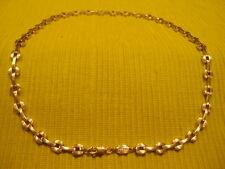 moderne chaîne de fossil 925 argent chaîne en argent bijoux en argent