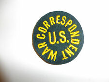 c0001 WW 2 Civilian US WAR CORRESPONDENT Patch round Ernie Pyle R10A