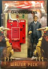 """Ghostbusters 6"""" Walter Peck Figure With Containment Unit Mattel Matty And Mailer"""