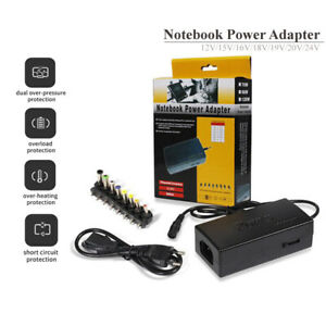 12-24V 96W Universal Laptop Adjustable Charger Power Supply Adapter