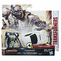 Transformers The Last Knight COGMAN Cyberfire 1-Step Turbo Changer by Hasbro