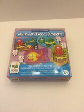 The Learning Journey My First Puzzle Set 4-In-A-Box! Ocean New NIB