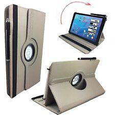 """Hülle Tasche für Fujitsu Stylistic Q550 Tablet Cover Etui 360° Grau 10.1"""""""