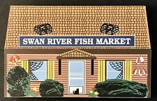 Cat's Meow Village Cape Cod Collection: Swan River Fish Market, Dennisport, Ma