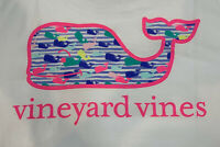 Vineyard Vines Womens S/S Watercolor Whale Fill Pocket T-shirt Sz XL ~NEWTAGS