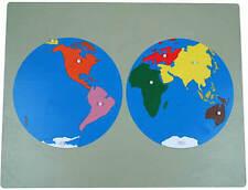 Montessori,  Großes Weltpuzzle, 57 x 44 cm, MS77