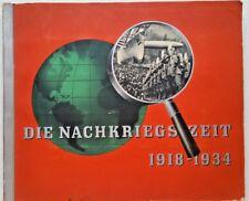 GERMAN CIGARETTE CARD ALBUM 1918 TO 1934 RARE
