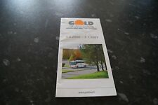 Gold Line Finland bus timetable 2006