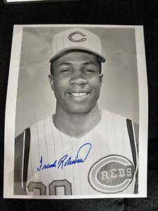 Frank Robinson signed 11x14 Photo