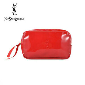 1x YSL Red Makeup Cosmetics Bag, Small Size, Brand NEW!