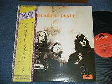 TASTE RORY GALLAGHER Japan 1973 NM LP+Obi ON THE BORDS