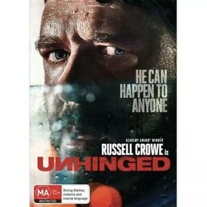 Unhinged (DVD, 2020) Region 4 - Australia