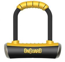Onguard Pitbull Mini 8006 90mm X 140mm Shackle D U Bicycle Lock Gold Rated