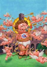 Garbage Pail Kids BNS 3: Lovestruck CHUCK / Lovesick NICK - Color Rough - LAYRON