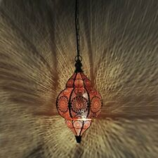 Moroccan Red Turkish Hanging Lamps Ceiling Lights Fixture Home Lantern Gifts