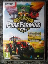 Pure Farming 2018 PC Nuevo Simulación agrícola textos en castellano in english¨