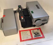 Braun Paximat International Autofocus 1950 German 35 mm slide projector