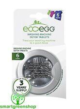 ecoegg Washing Machine Detox Tablets (6 pack) Hypoallergenic, Eco Friendly,