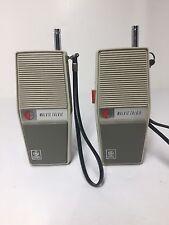 VINTAGE 70'S GENERAL ELECTRIC WALKIE TALKIE FOR THE AFICIONADO OF COLLECTIBLES