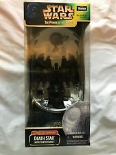 Star Wars Power Of The Force Death Star & Darth Vader by Kenner *NIB* 1998