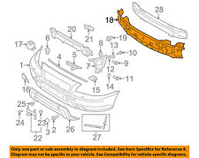 VOLVO OEM 03-07 XC70 Front Bumper Grille-Support 30655502