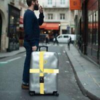 Verstellbare Mode Reisegepäck Koffer Schloss Tresor Krawatt Gepäck A4K5 Gur U9N8
