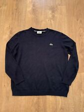 02 Lacoste Boys Blue Jumper Age 12 Years