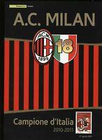 FOLDER 2011 - MILAN CAMPIONE D'ITALIA  -